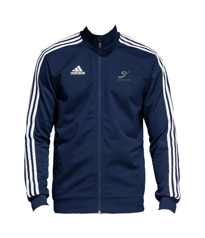 THE WESTSIDE SCHOOLS TRACK JACKET, POLYESTER DOUBLE KNIT, ADULT