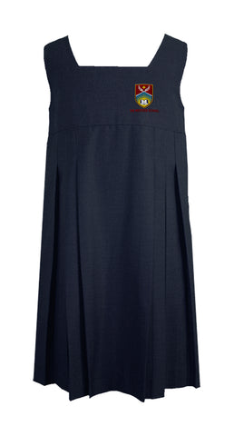 THE WESTSIDE SCHOOLS TUNIC, STANDARD FRONT PLEATS