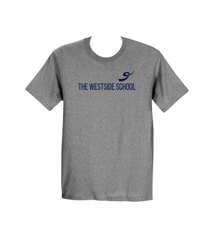 THE WESTSIDE SCHOOLS GYM T-SHIRT, ADULT