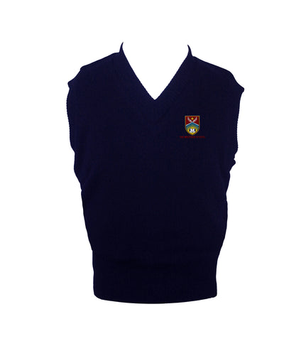 THE WESTSIDE SCHOOLS VEST,  UP TO SIZE 42