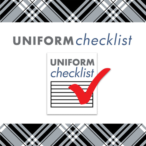Uniform Checklist
