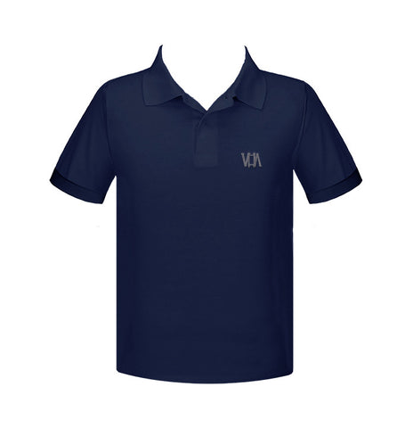 VANCOUVER HEBREW ACADEMY GOLF SHIRT, UNISEX, SHORT SLEEVE, YOUTH