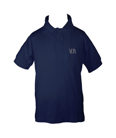 VANCOUVER HEBREW ACADEMY GOLF SHIRT, UNISEX, SHORT SLEEVE, CHILD
