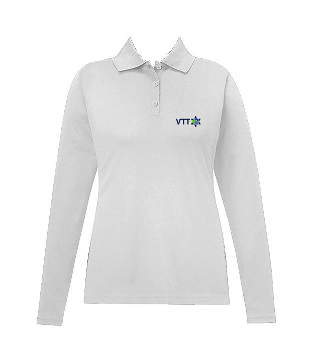 TALMUD TORAH GOLF SHIRT, GIRLS, LONG SLEEVE, YOUTH