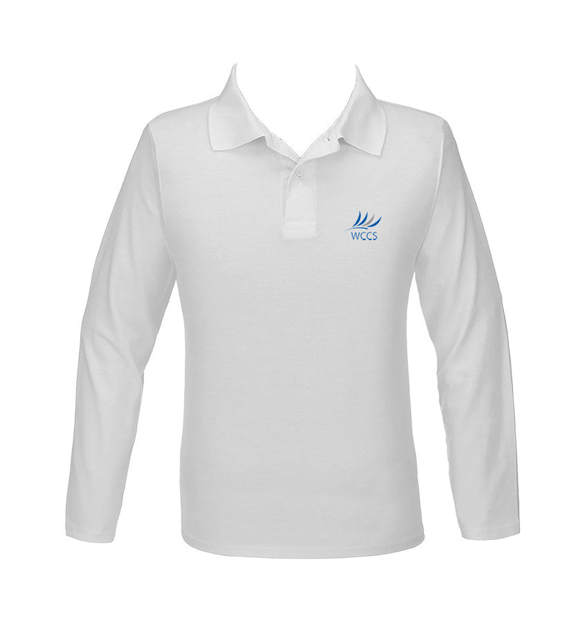 WEST COAST GOLF SHIRT, UNISEX, LONG SLEEVE, YOUTH