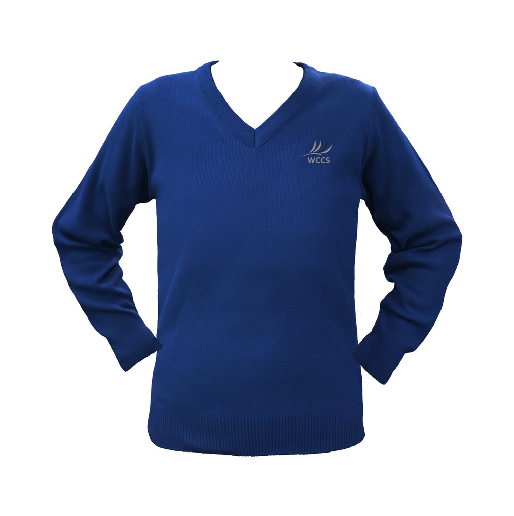 WEST COAST ROYAL BLUE PULLOVER, UP TO SIZE 32