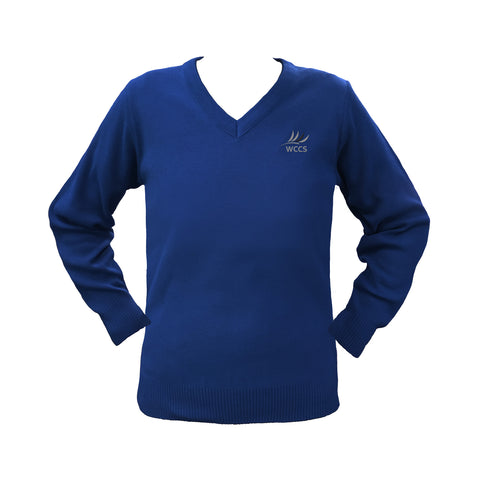 WEST COAST ROYAL BLUE PULLOVER, UP TO SIZE 42