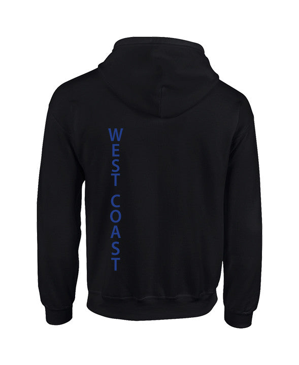 WEST COAST ZIP HOODIE, ADULT