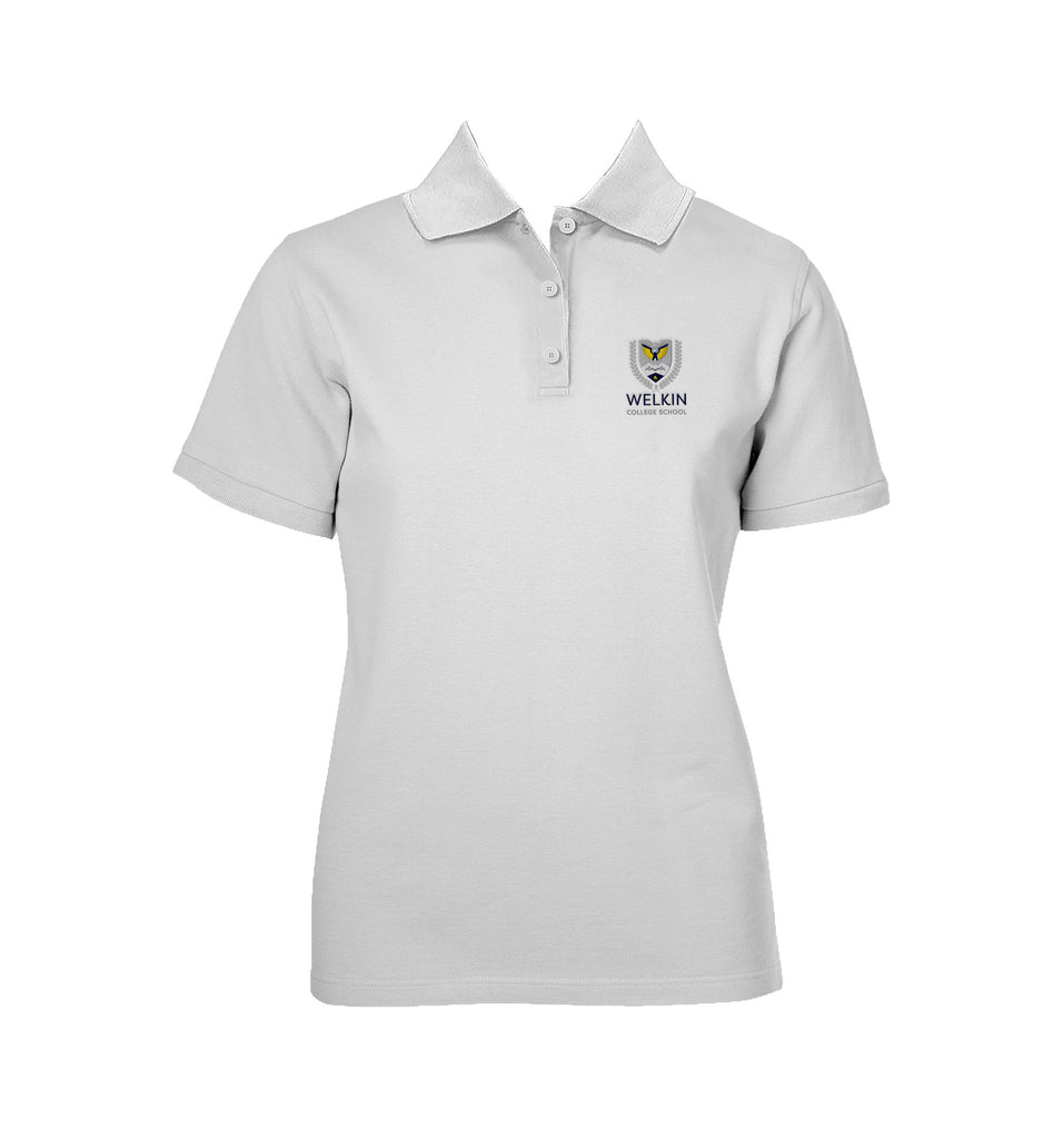WELKIN COLLEGE SCHOOL GOLF SHIRT, GIRLS, SHORT SLEEVE, YOUTH