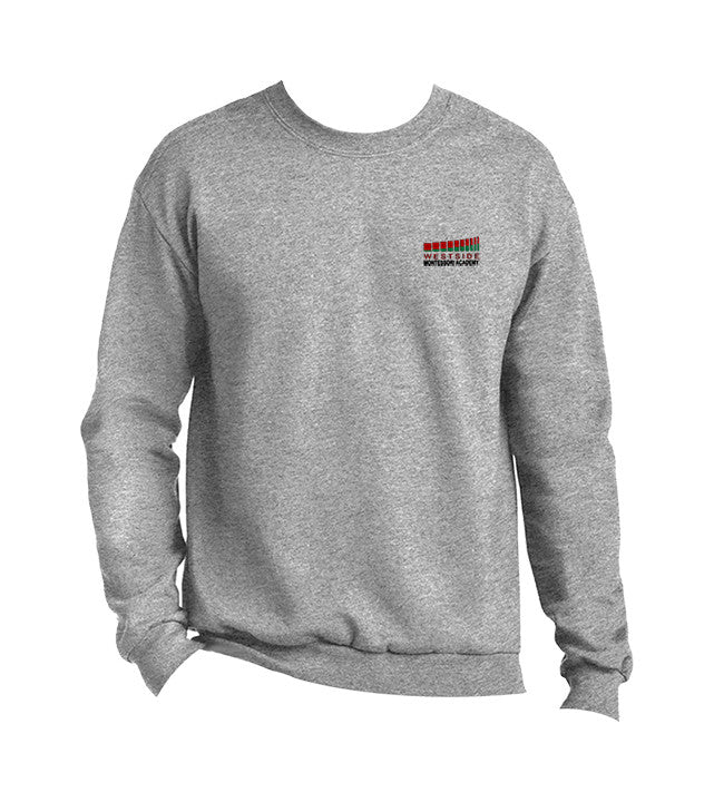 WESTSIDE MONTESSORI CREWNECK SWEATSHIRT, ADULT