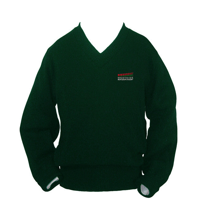 WESTSIDE MONTESSORI PULLOVER, UP TO SIZE 32