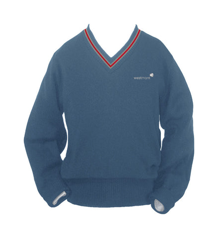 WESTMONT PULLOVER WITH PIPING, YOUTH