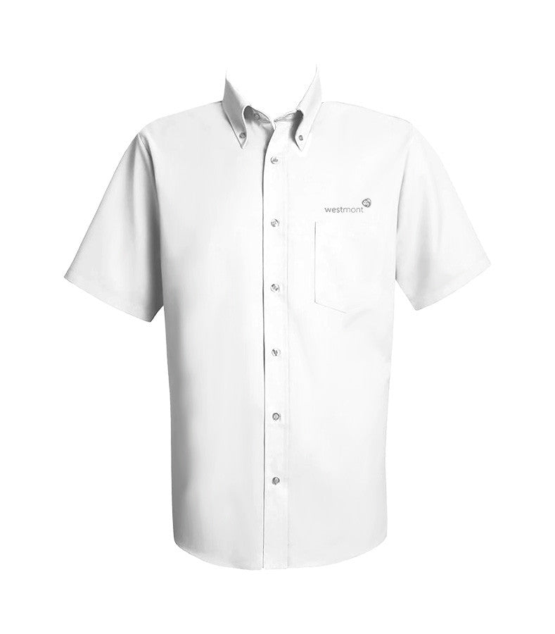 WESTMONT DRESS SHIRT, UNISEX, SHORT SLEEVE, YOUTH