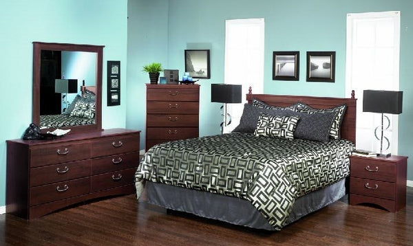 488 SERIES - SANTA ROSA 6 PC BEDROOM SUITE