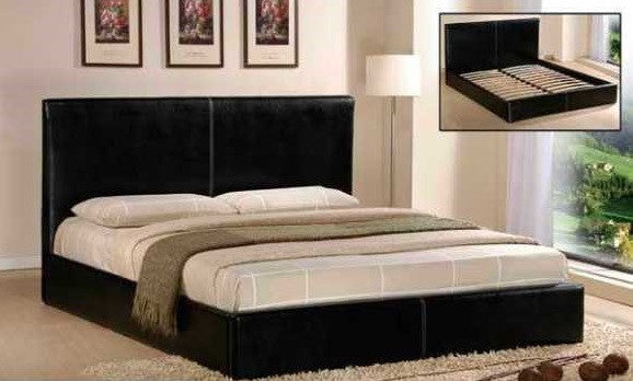 800 SERIES - QUEEN PLATFORM BED IN CAPPUCCINO