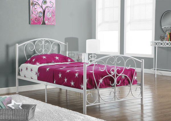 I 2390 - METAL TWIN SIZE BED FRAME ONLY