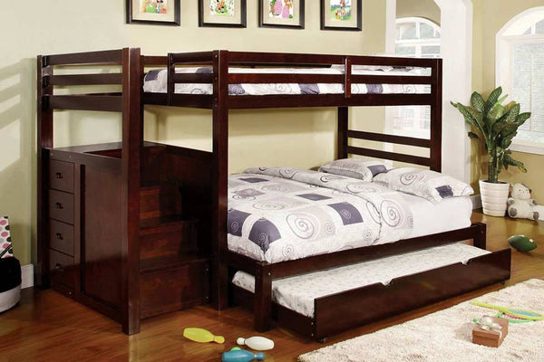 PRINCETON STEP/ STAIRCASE TWIN/ DOUBLE BUNK BED