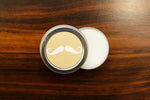 Mustaches Wax in a Tin
