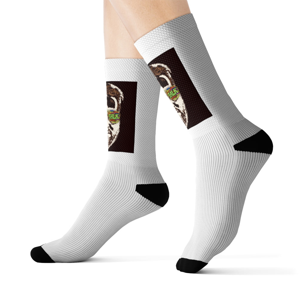 Porch Talk Sublimation Socks