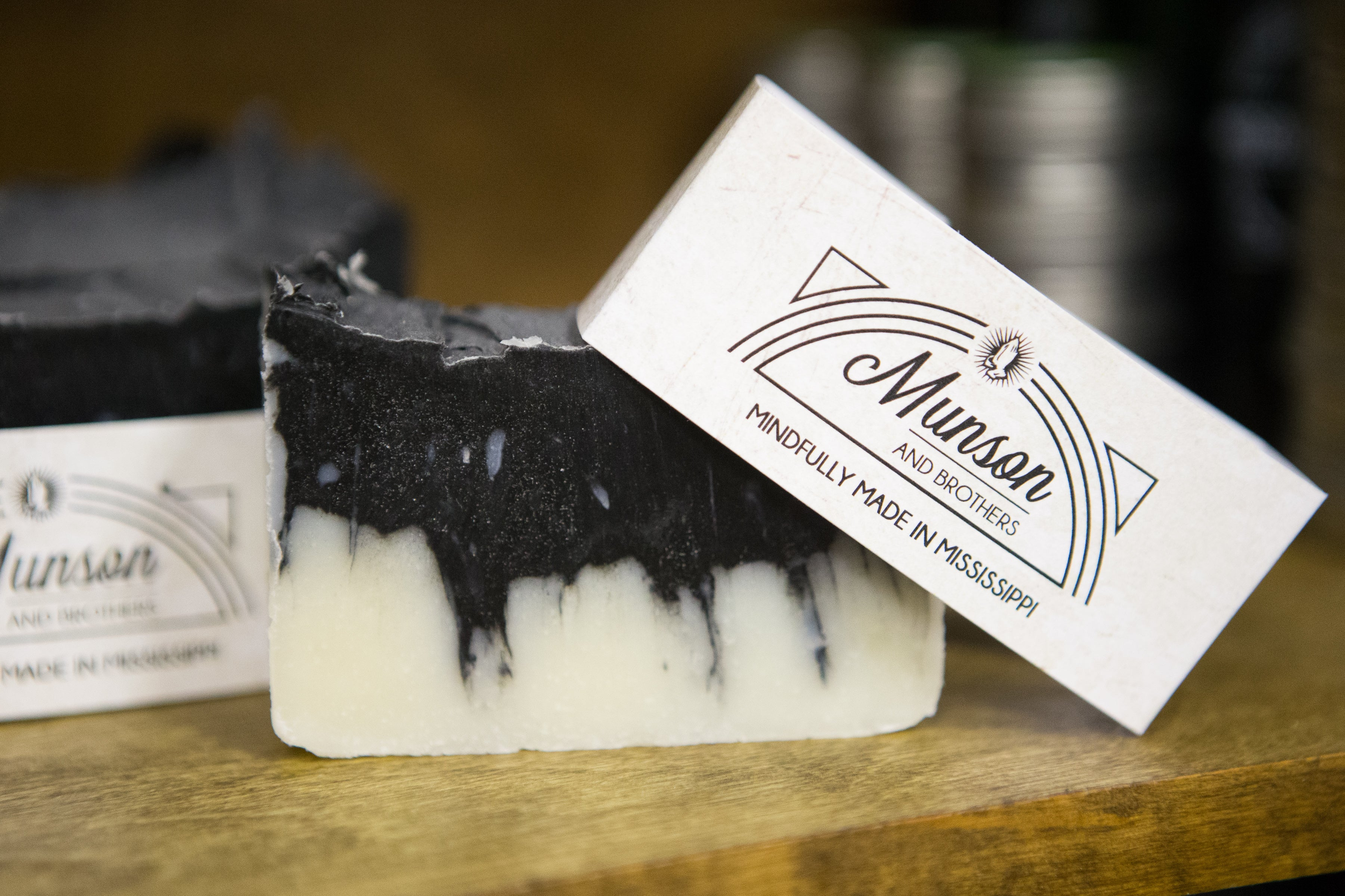 Activated Charcoal Shampoo Bar - Munson and Brothers