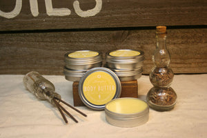 Soothing body butter