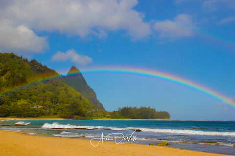 Makana Rainbow ~ Fine Art Prints