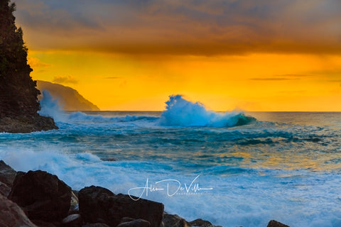 Golden Na Pali Coast ~ Fine Art Prints