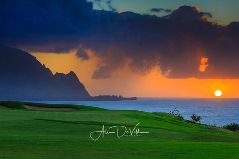 Makana from Makai Golf  ~ Fine Art Prints