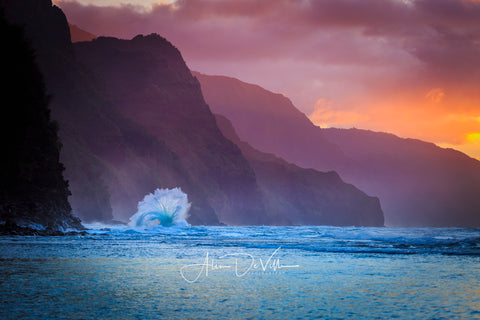 Waves of Na Pali ~ Fine Art Prints