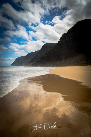 Polihale Reflections ~ Fine Art Prints