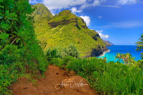 Na Pali Trail ~ Fine Art Prints