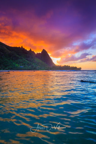 Fiery Makana ~ Fine Art Prints