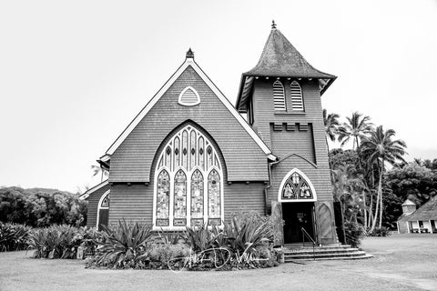 Wai oli Church B&W ~ Fine Art Prints