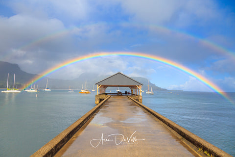 Rainbows a Pier ~ Fine Art Prints