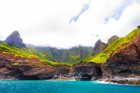 Na Pali Cove ~ Fine Art Prints