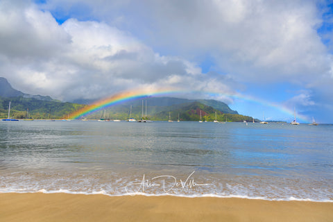 Hanalei Bay Rainbow ~ Fine Art Prints