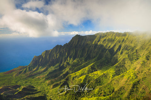 Kalalau Valley Green ~ Fine Art Prints