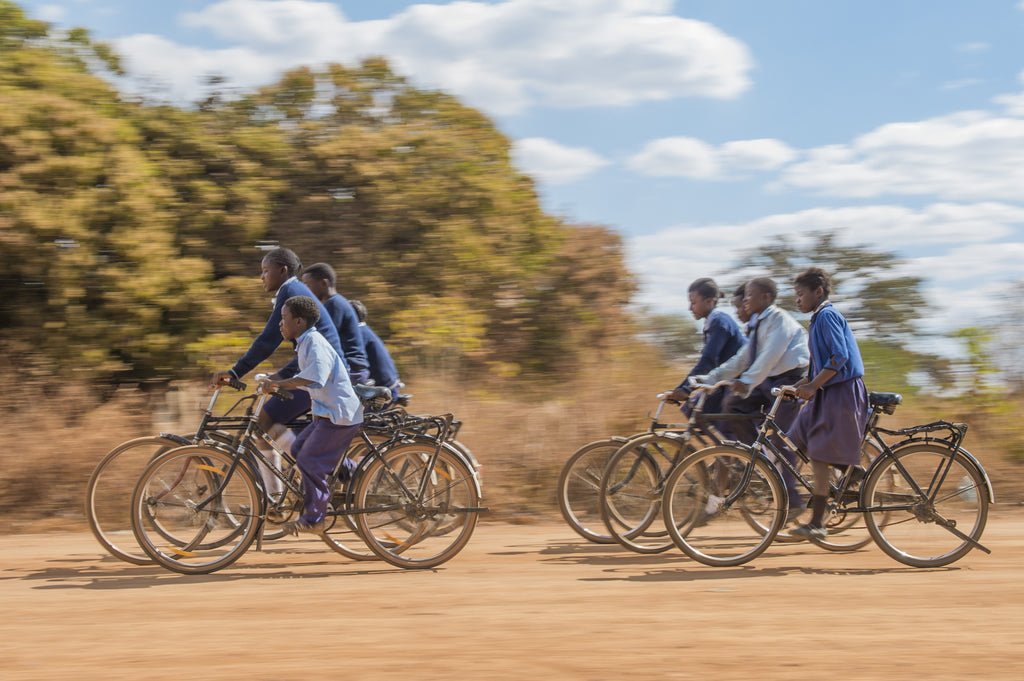Our giving project in Zambia with World Bicycle Relief