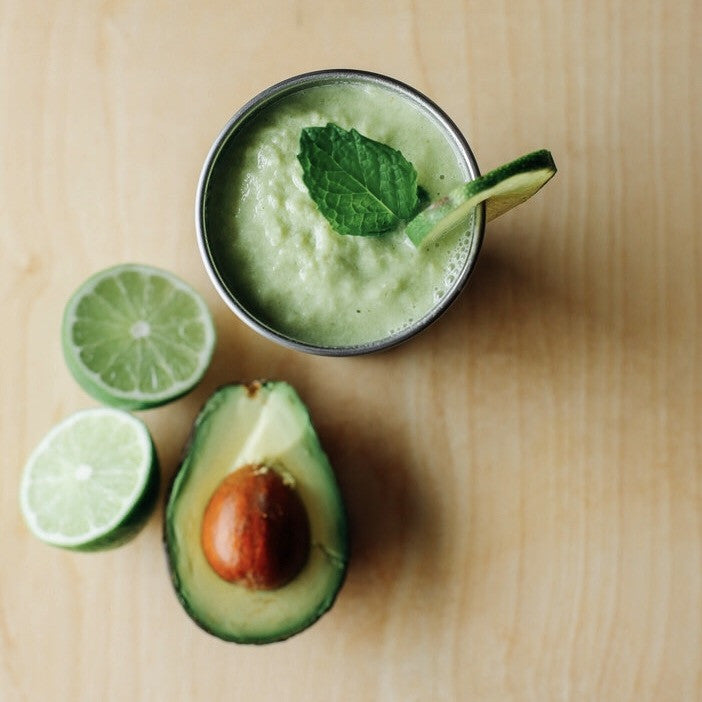 Mint mojito smoothie MiiR pint cup