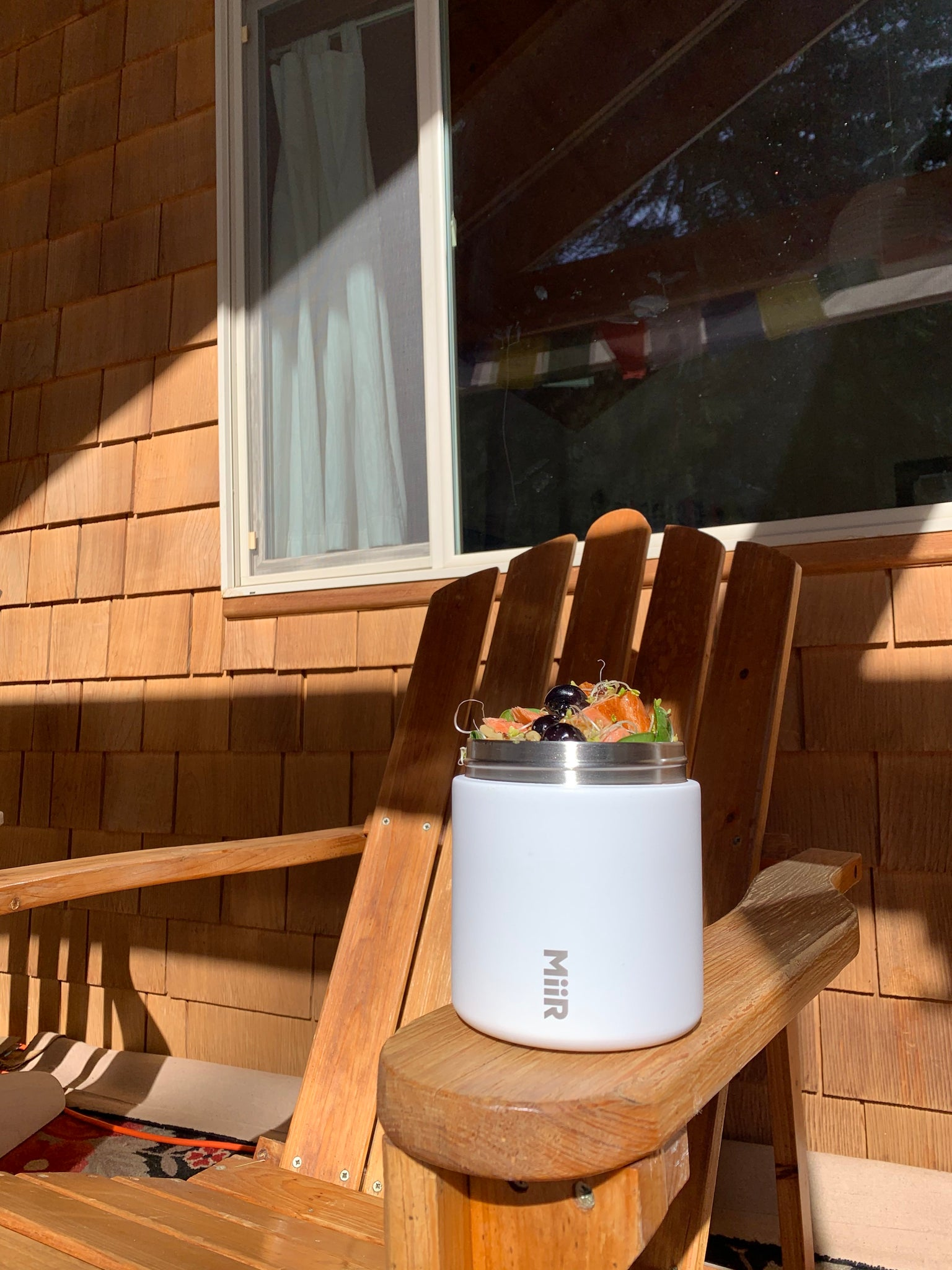 Spring Salad in the MiiR Food Canister