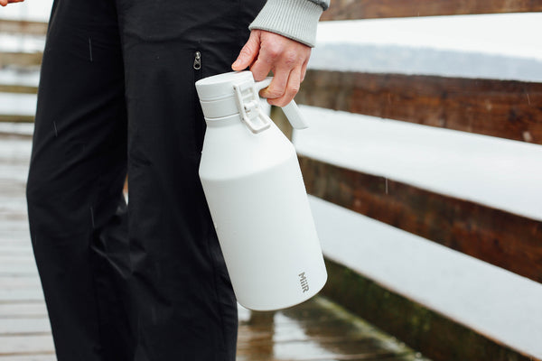 The pros of an insulated stainless steel growler