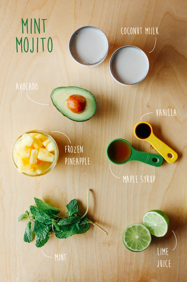 Mint mojito smoothie