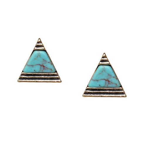 Bermuda Stud Earrings