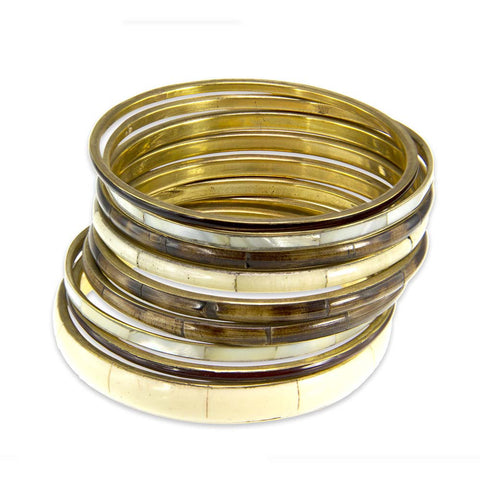 Alice Set of 9 Bangles