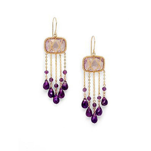 14K Goldfilled, Briolet Earrings