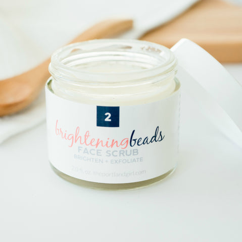 Brightening Beads Face Scrub