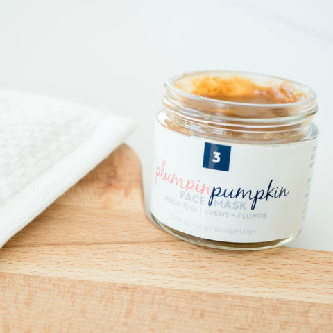 Plumpin Pumpkin Glycolic Face Mask