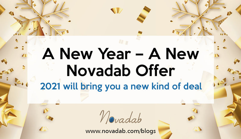A New Year – A New Novadab Offer