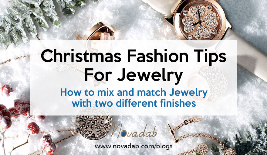 Christmas Fashion Tips For Jewelry - How to mix and match Jewelry with two different finishes