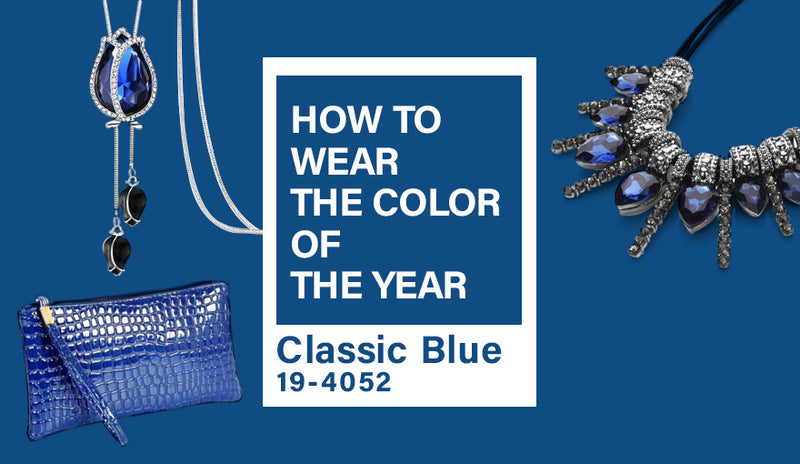HOW TO WEAR THE COLOR OF  THE YEAR